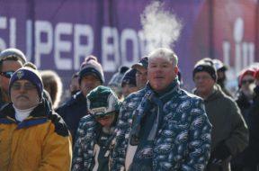 Minnesota Vikings Super Bowl Cold Minneapolis AP