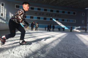 North Korea kid AP