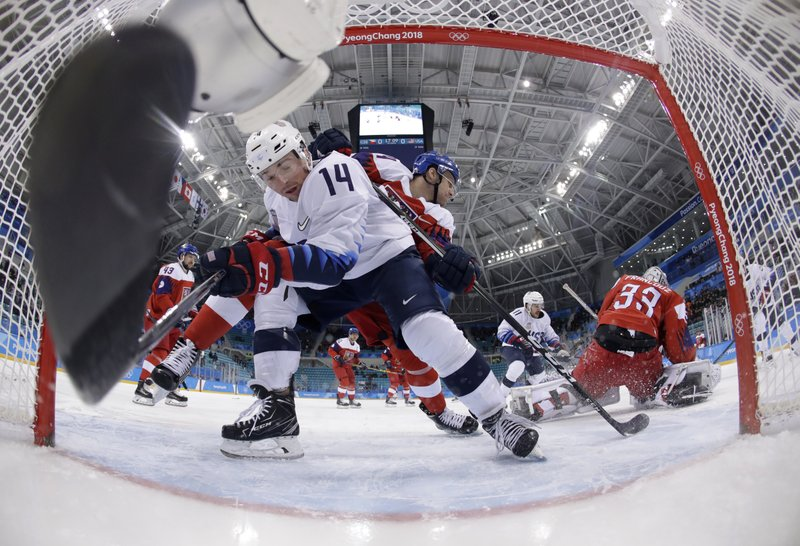 Czechs eliminate U.S. in shootout in Olympic quarterfinals