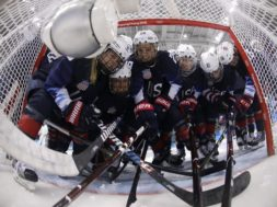 Olympics US women's hockey AP