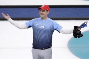 Olympics USA Curler Curling John Shuster AP
