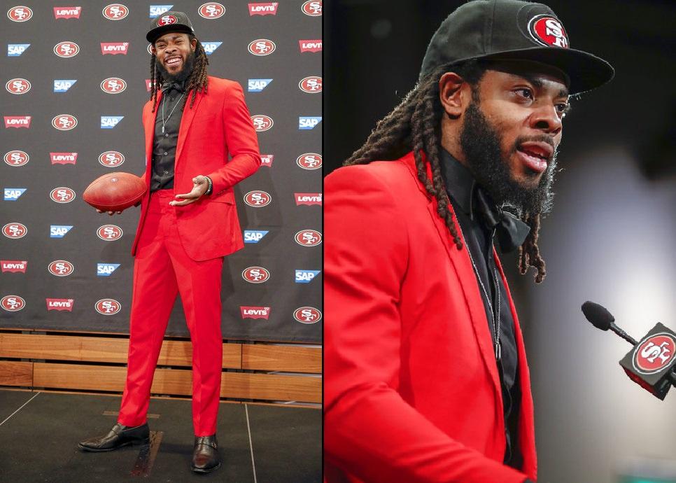 Richard Sherman defends contract negotiations with 49ers