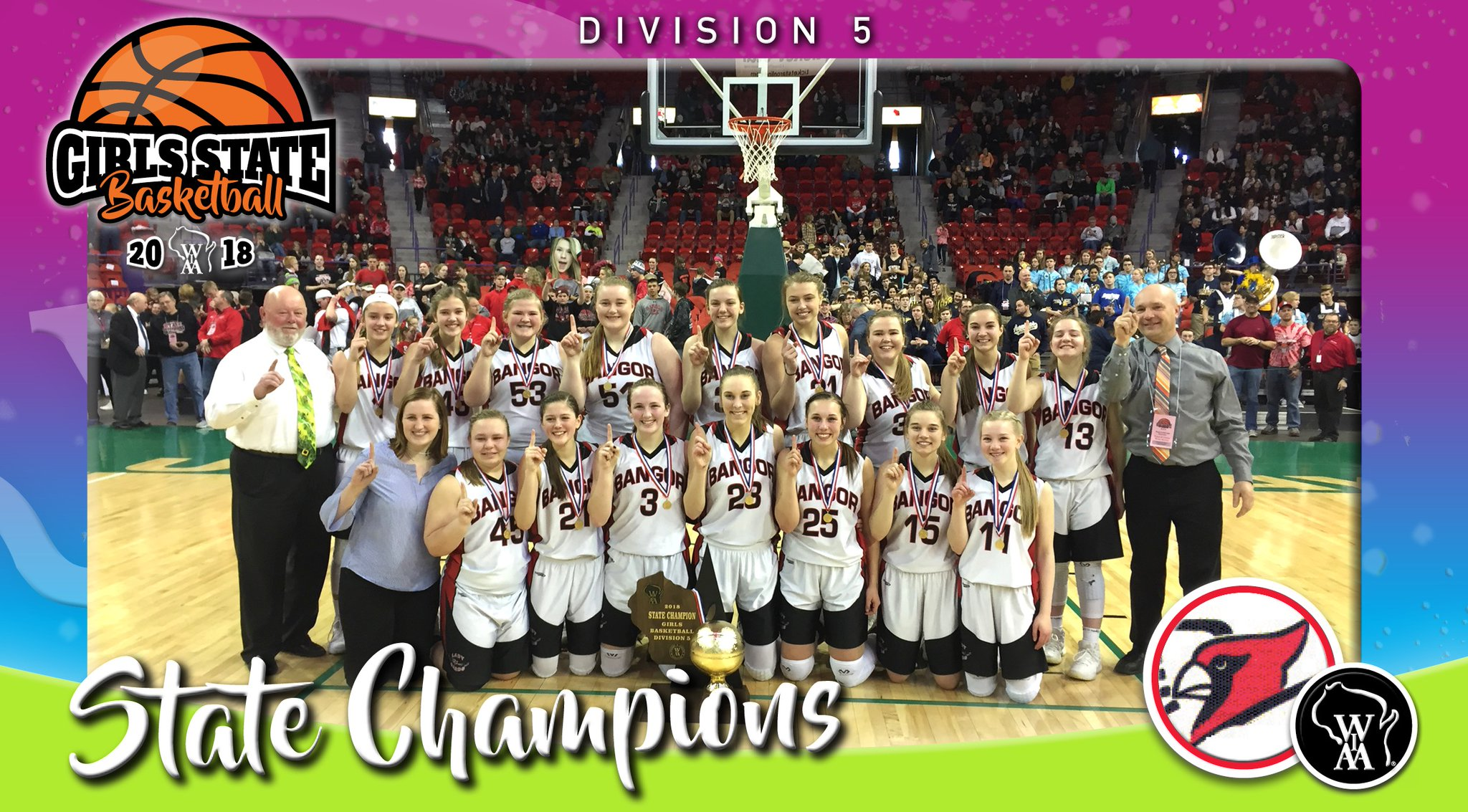 Bangor takes down top-ranked and unbeaten Black Hawk for state title