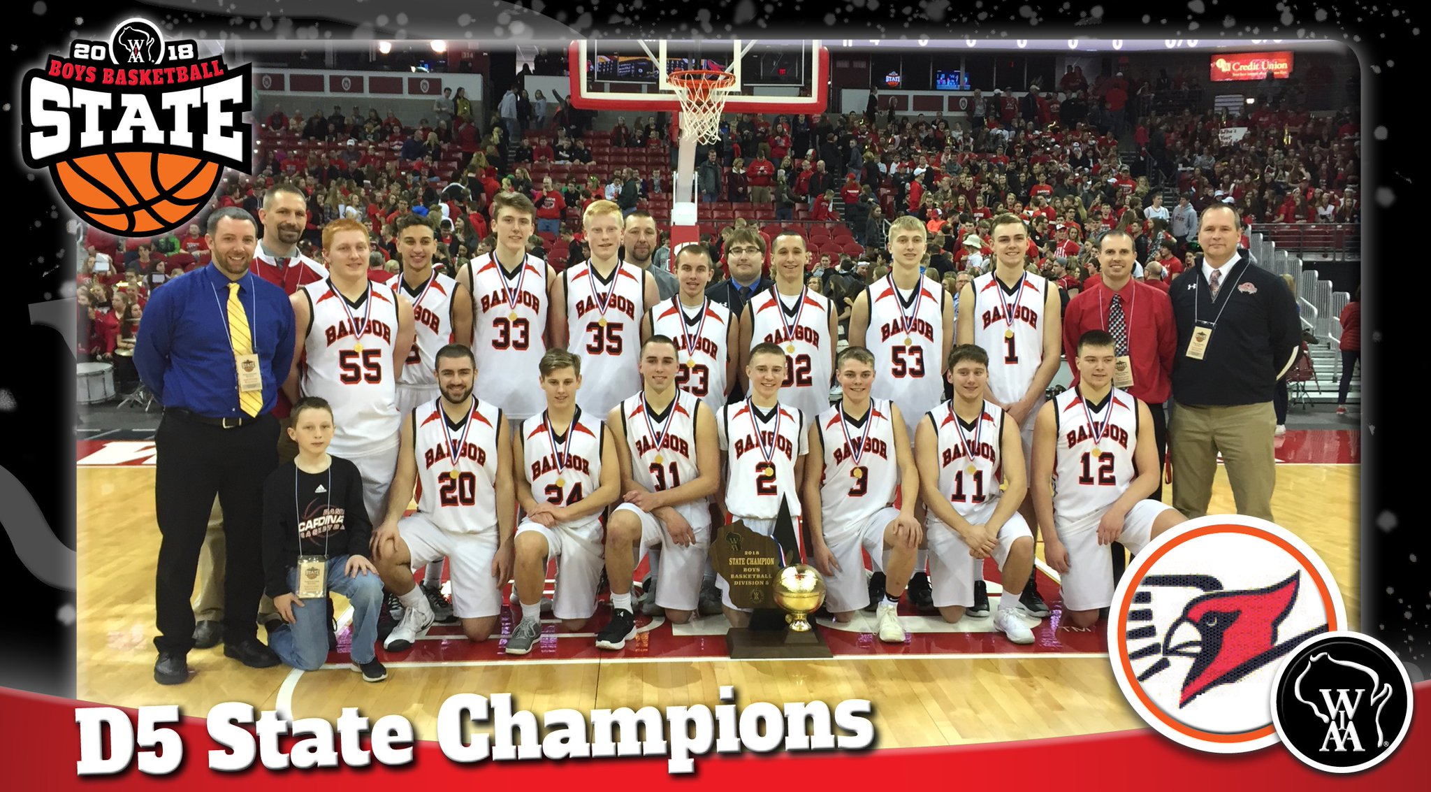Bangor High becomes all kinds of history in winning state championship