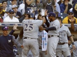 Brewers Choi winner AP