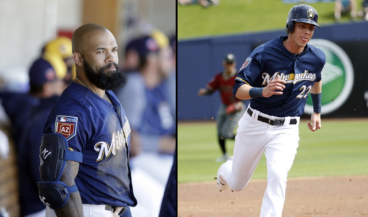 Christian Yelich joins lefties Thames, Shaw in Brewer lineup