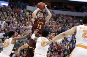 Loyola-Chicago Clayton Custer NCAA tourney AP