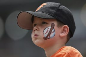 Orioles kid fan AP