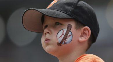 Orioles kid fan AP