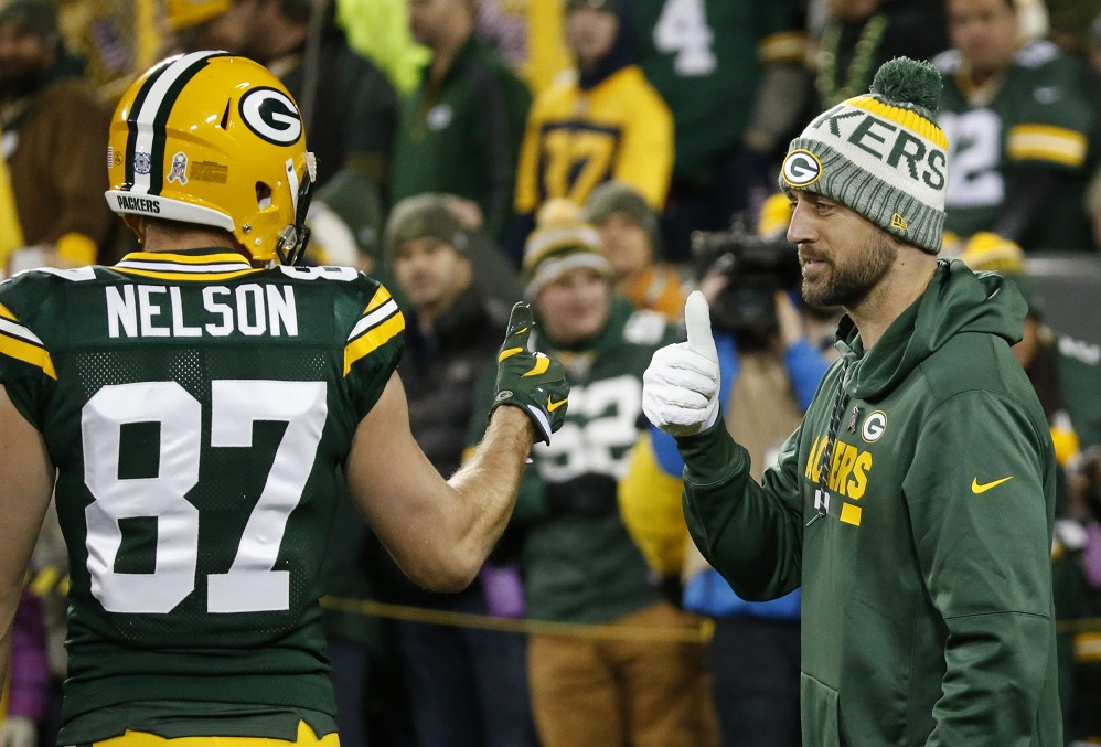 Jimmy Graham in, Jordy Nelson out and other NFL things