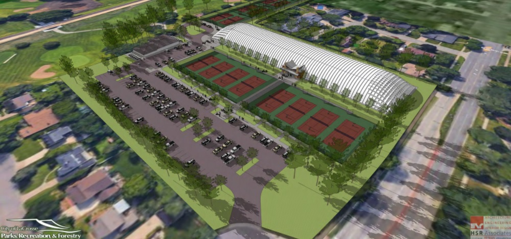 Plan for huge indoor tennis court facility coming together for La Crosse