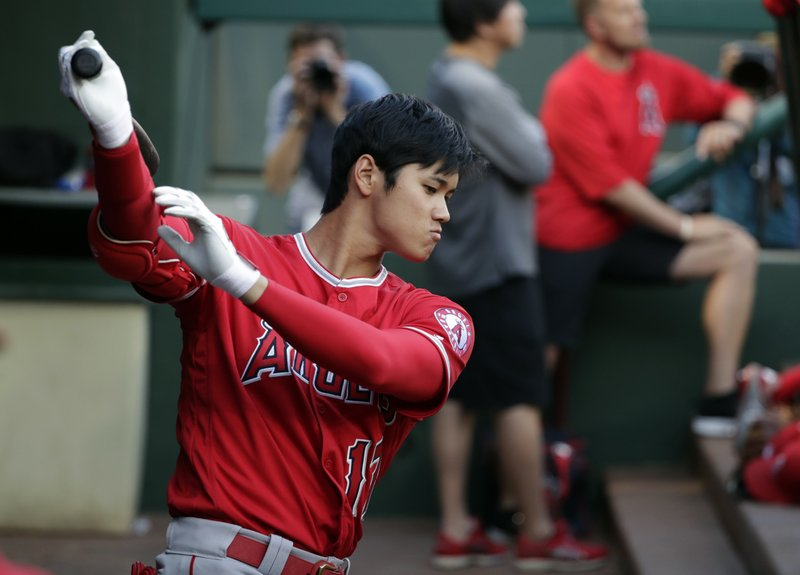 Ohtani eager for more as Angels balance work for 2-way star