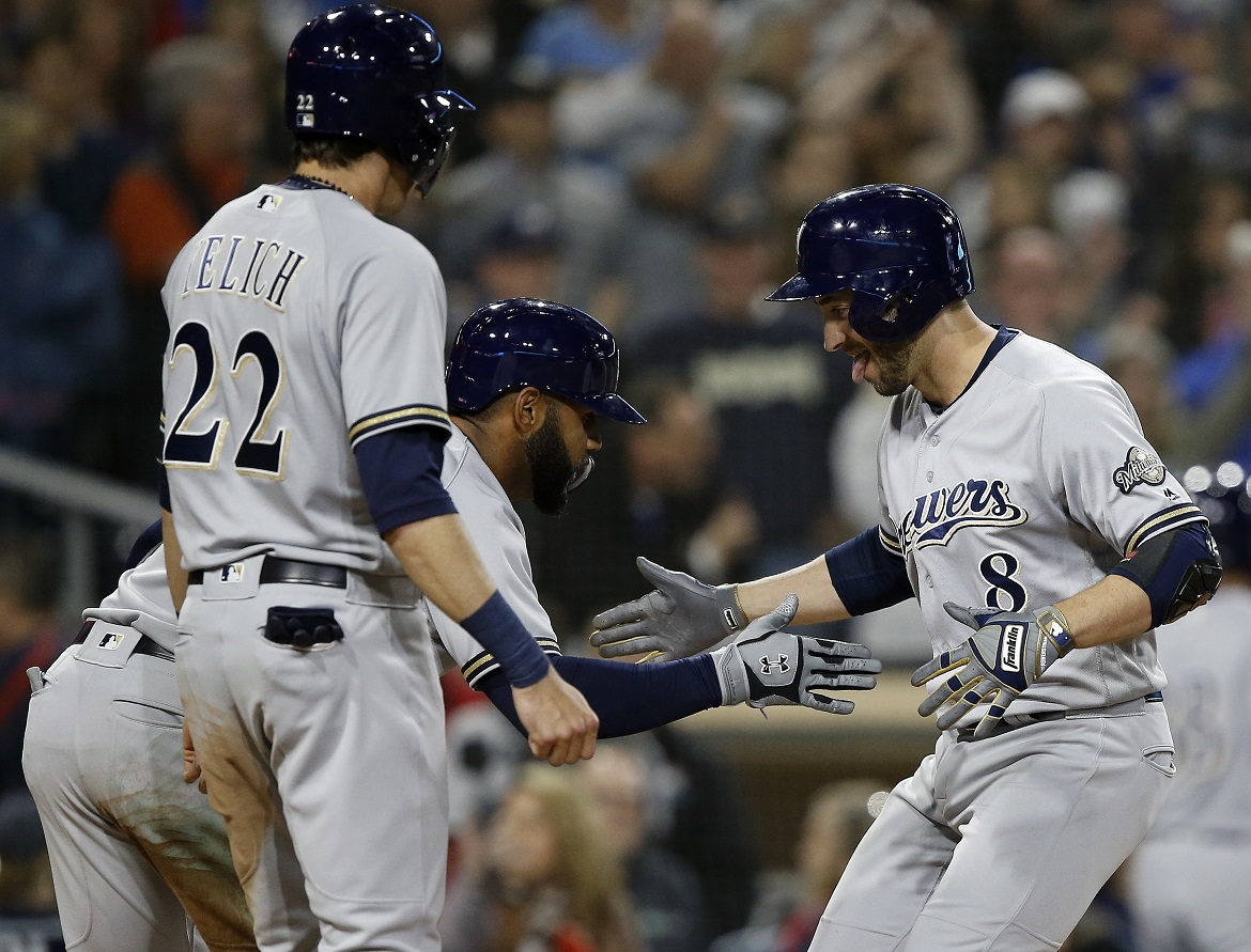 Brewers looking to go 162-0 as they take on Cardinals in home-opener