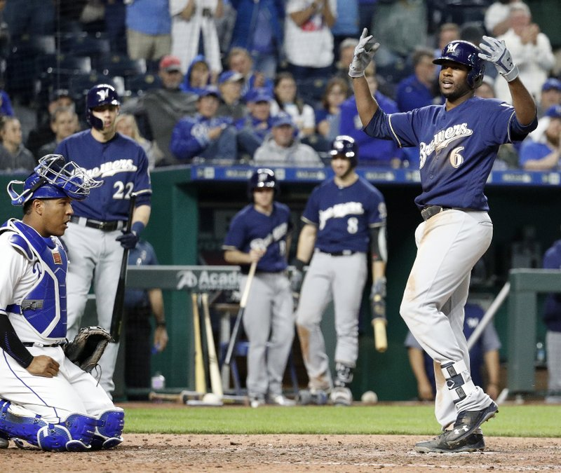 Brewers put CF Cain on DL with groin strain, recall Broxton