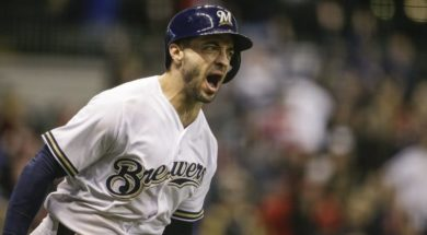 Brewers Ryan Braun scream AP