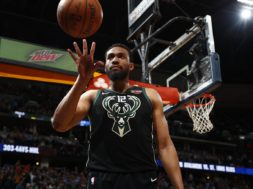 d Milwaukee Bucks forward Jabari Parker (12)