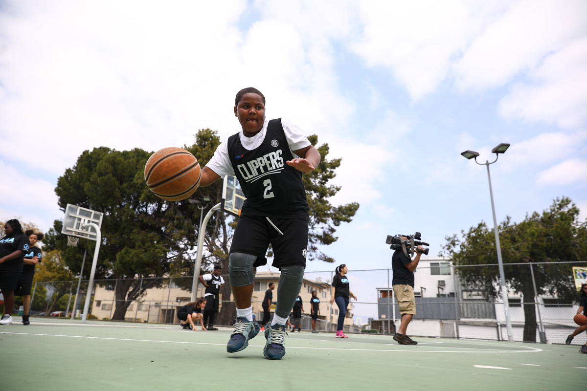 L.A. Clippers donation to upgrade 350 public basketball courts