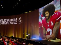 Netherlands Kaepernick Honored