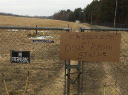 Doug Russell statue location