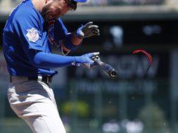 Kris Bryant Cubs beaned AP