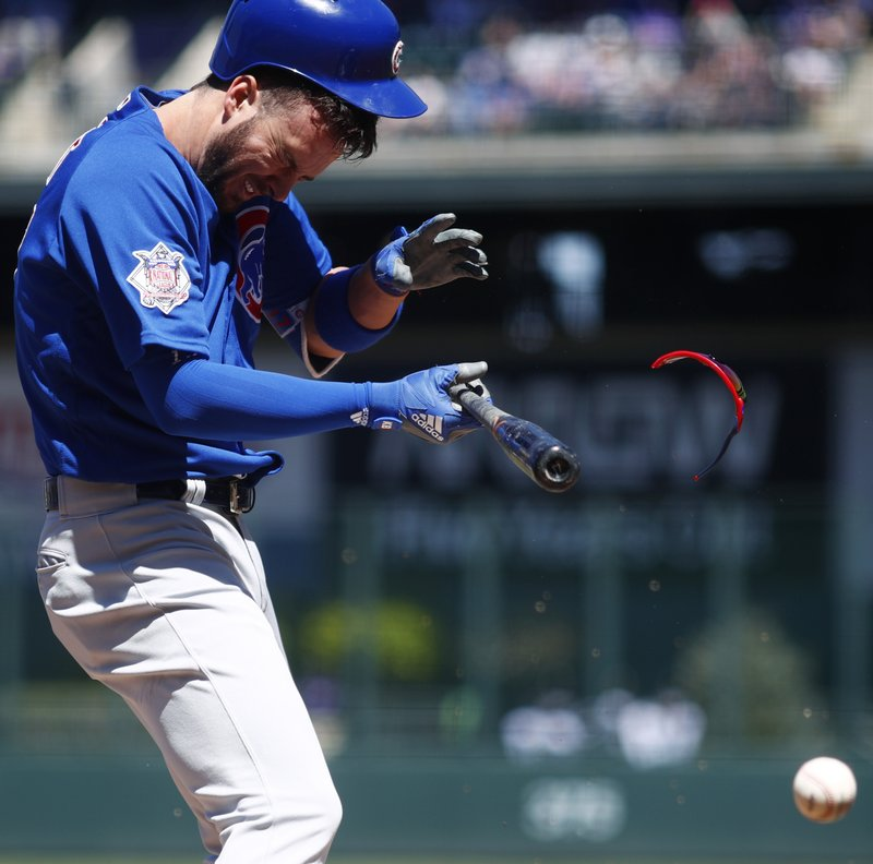 LEADING OFF: Dodgers' Buehler makes 1st start, Bryant rests