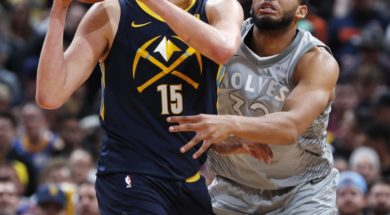 Nuggets Jokic Wolves Towns