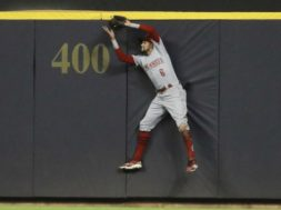 Reds Billy Hamilton AP
