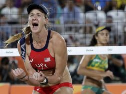 Volleyball Kerri Walsh AP