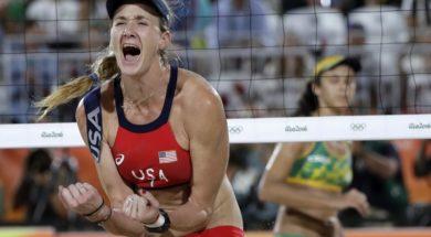 Volleyball Kerri Walsh AP