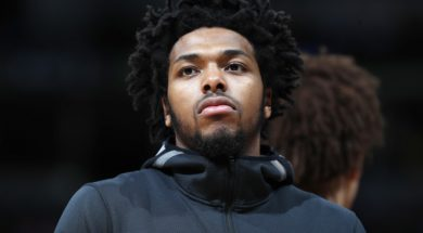 d Milwaukee Bucks guard Sterling Brown (23)