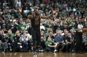 LeBron James what Game 7 vs Celtics AP