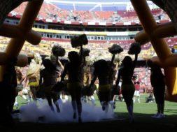 NFL cheerleaders Washington AP