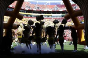 NFL cheerleaders Washington AP