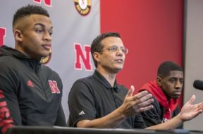 Nebraska basketball coach Tim Miles AP