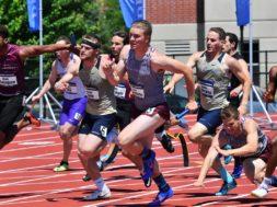 UWL relay NCAA finals champions James Lund