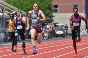 UWL track national championship men Jim Lund