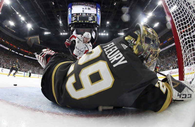 Knights outworked by Capitals in Game 2, take rare home loss