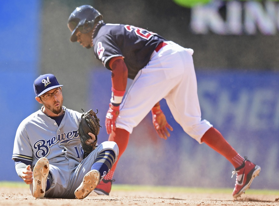 Carrasco strikes out 10 as Cleveland hands Brewers third straight loss