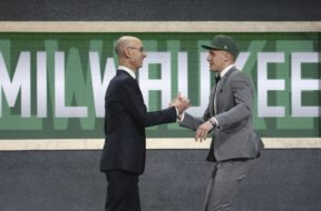 Bucks Draft Donte DiVincenzo AP