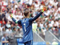 Germany goalkeeper Manuel Neuer AP