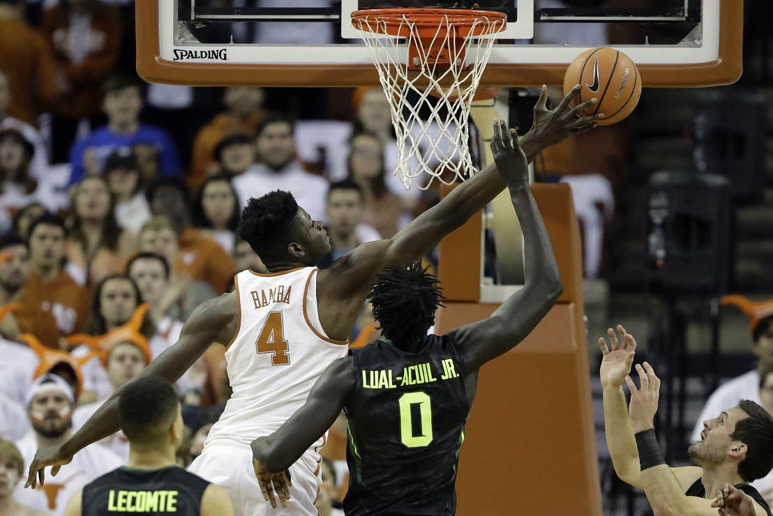 Texas' Mohamed Bamba makes his case with Suns