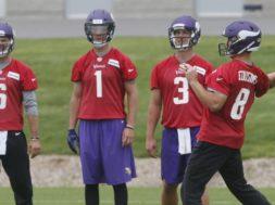 Vikings Kirk Cousins camp AP