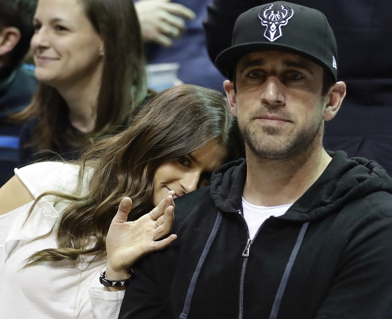 Danica Patrick says Aaron Rodgers spiked idea of woman cave