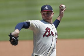 Braves Sean Newcomb AP