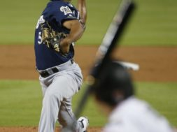 Brewers Freddy Peralta AP