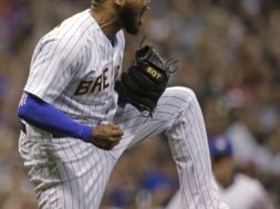 Brewers Jeremy Jeffress reaction AP