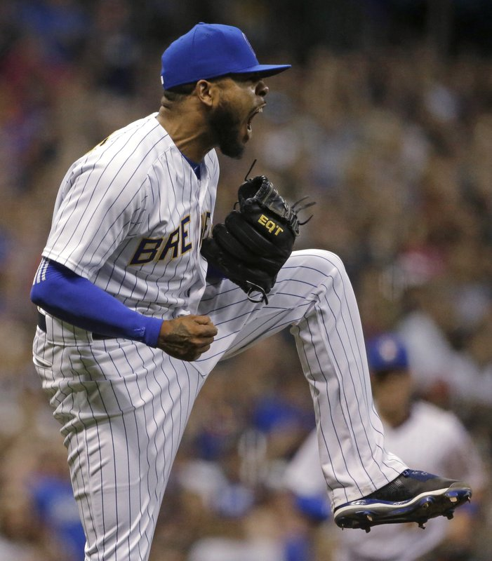 Brewers' overpowering bullpen banged up entering '19
