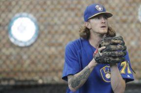Brewers Josh Hader bullpen AP