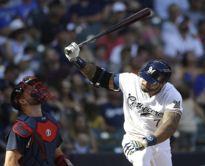Sanchez sharp as Braves snap Brewers' five-game win streak
