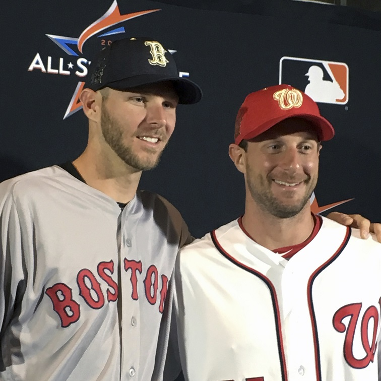 For second year in row, former La Crosse Loggers Sale and Scherzer face off to start all-star game